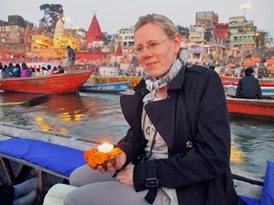 Bootsfahrt auf dem Ganges