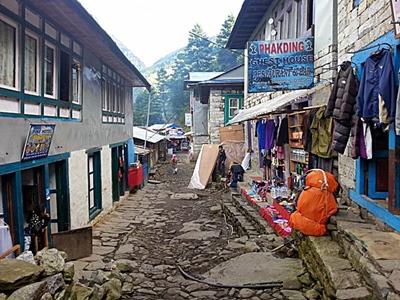 Dorf im Kumbu
