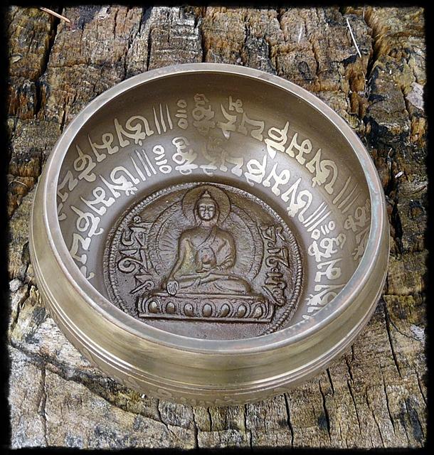 Klangschale Buddha