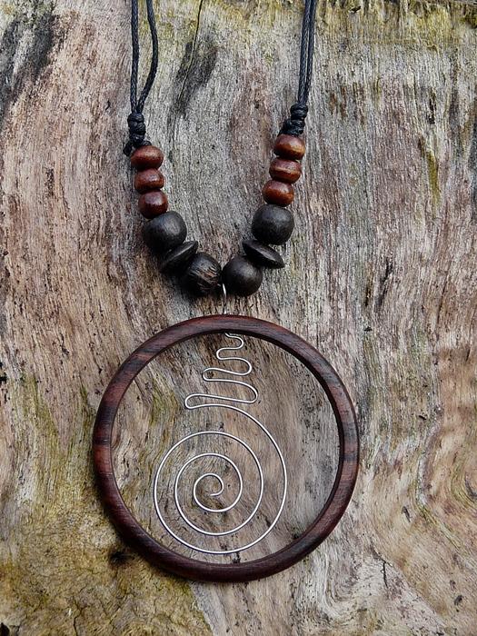 Bali Kette Creole mit Spirale