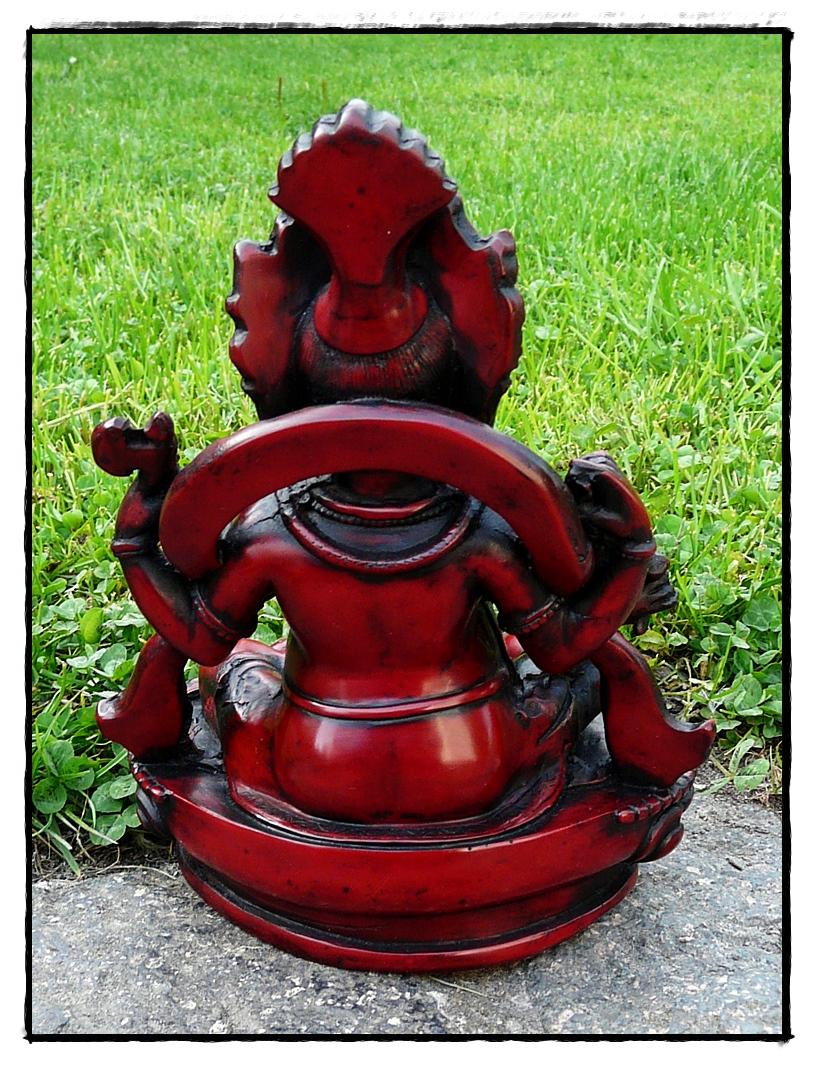 Lord Ganesha Statue Rückseite