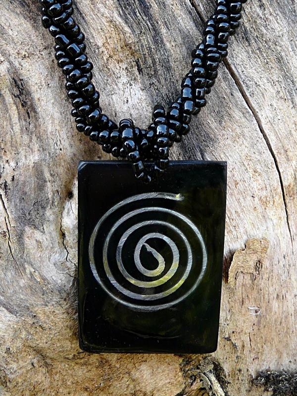 Bali Schmuck mit Spirale