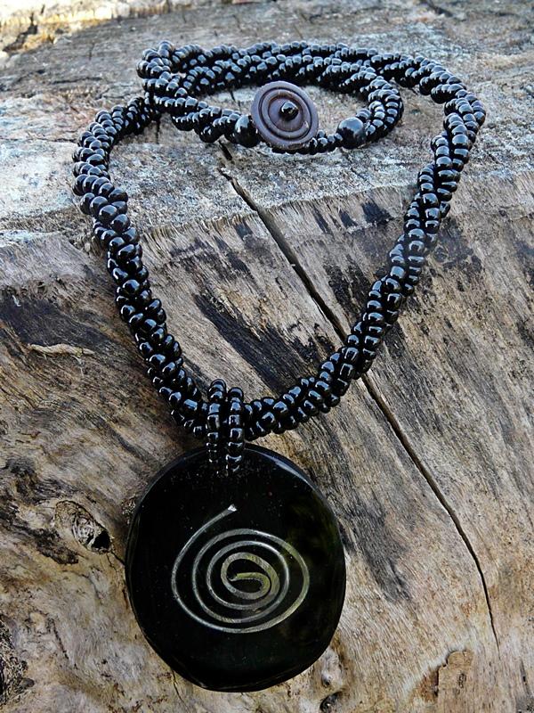 Bali Kette Spirale oval