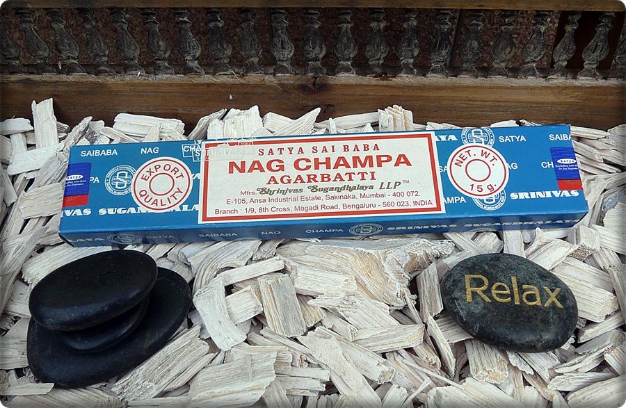 Nag Champa Räucherstäbchen aus Indien
