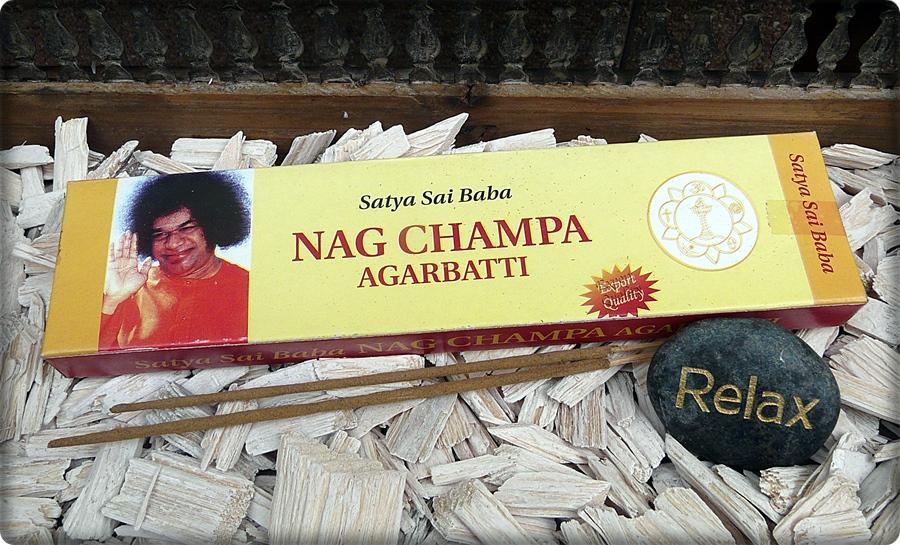 Nag Champa Räucherstäbchen aus Nepal