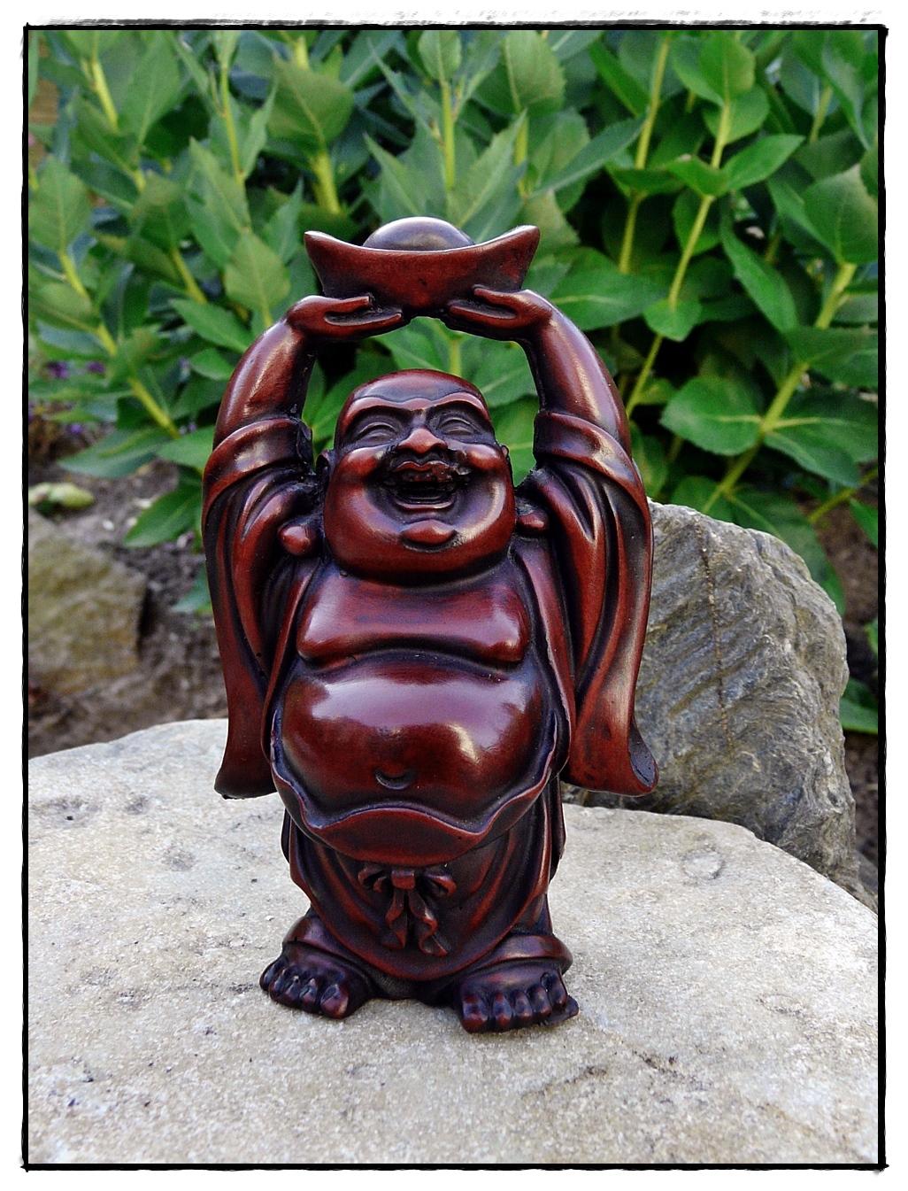 Kleine Happy Buddha Statue