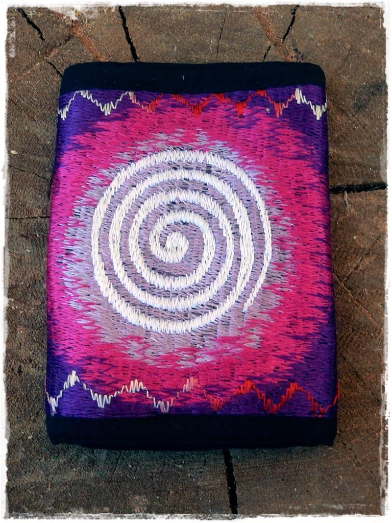 Geldbörse Spirale aus Baumwolle