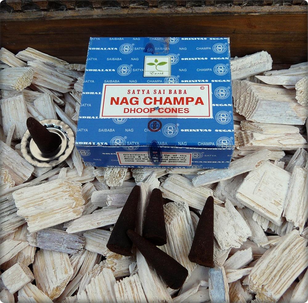 Räucherkegel Nag Champa
