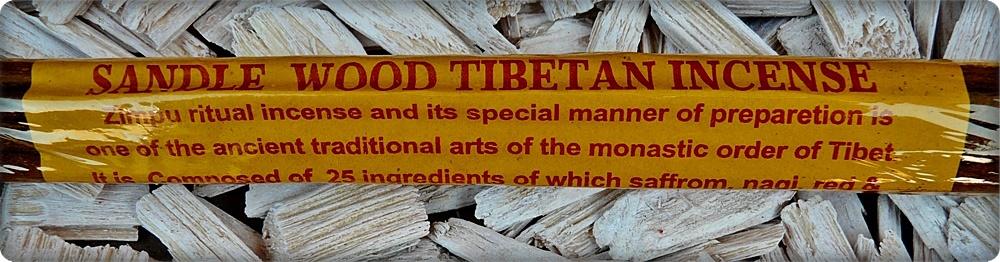 Sandle Wood Tibetan Incense