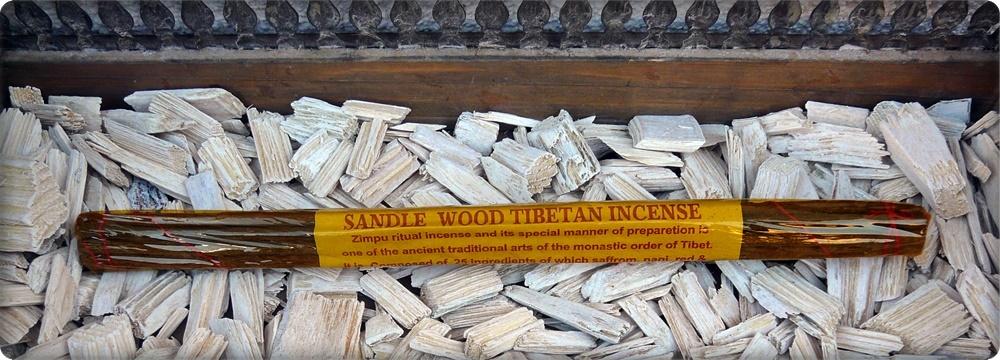 Tibetanische Sandelholz Räucherstäbchen
