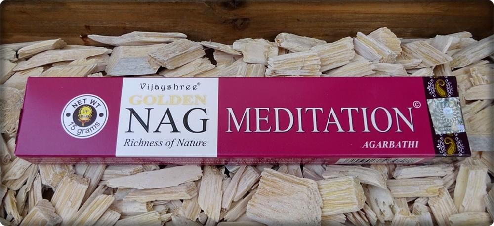 Golden Nag Meditation Räuchrstäbchen
