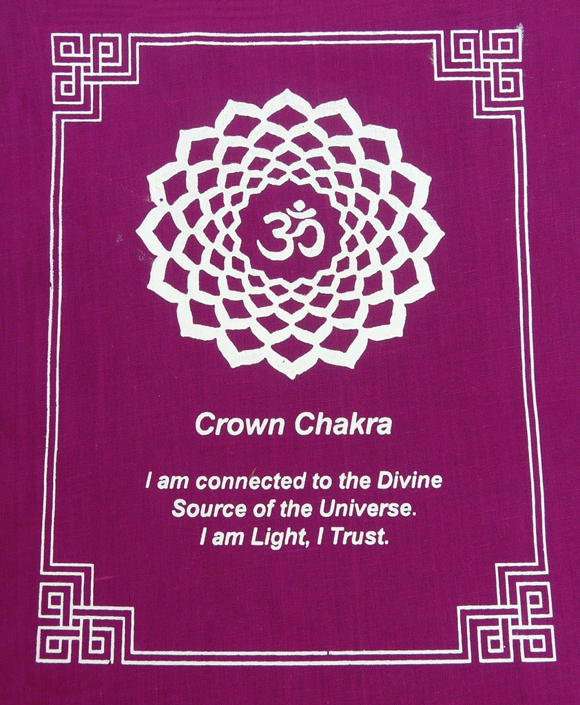 Chakra-Gebetsfahne