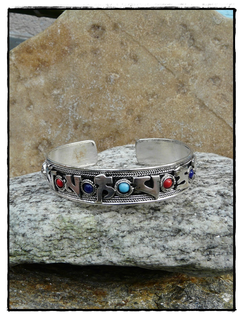 Tibetische Ringe und Armreifen
