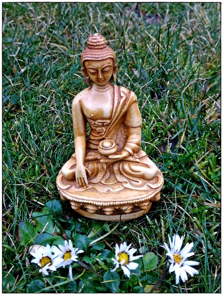 Buddha-Statue aus Nepal