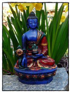 Kleiner blauer Medizin Buddha