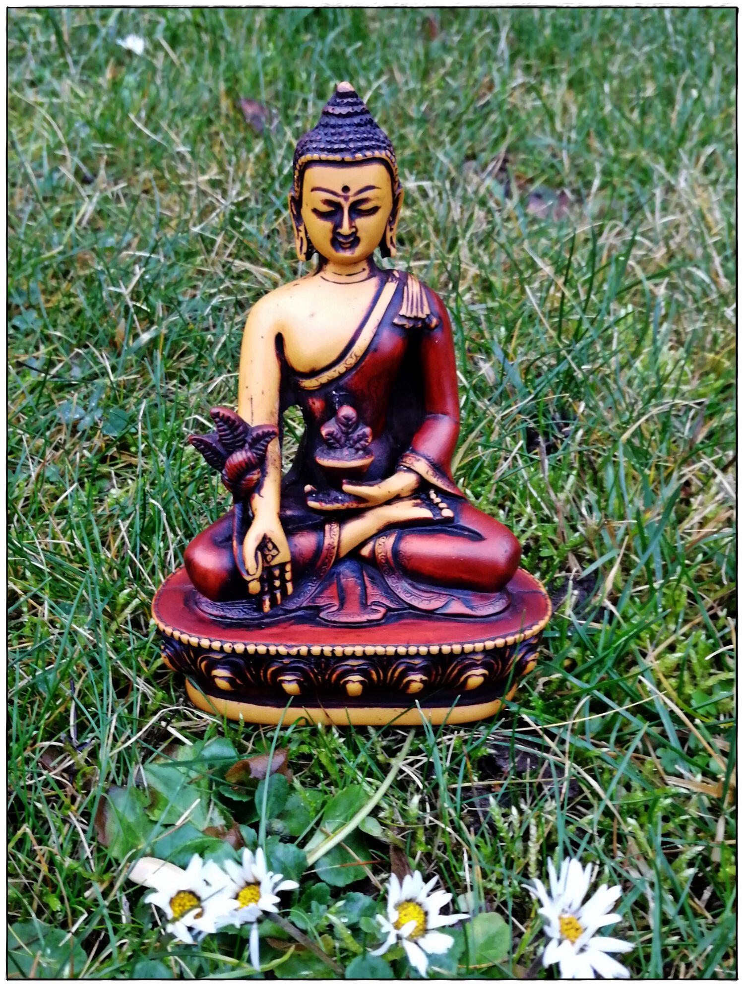 Medizin Buddha handbemalt