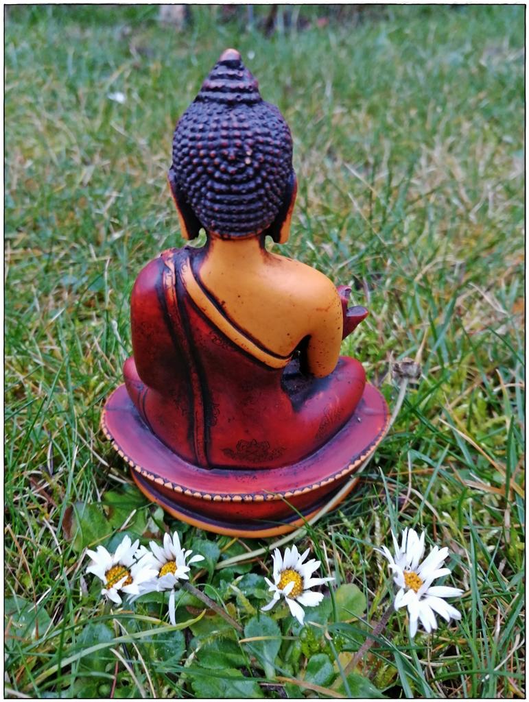 Medizin-Buddha Rückseite