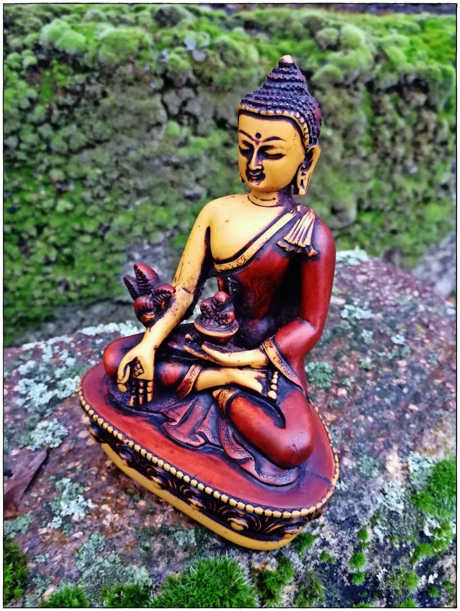 Medizin Buddha Statue antiker Stil