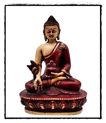 Medizin-Buddha Figur