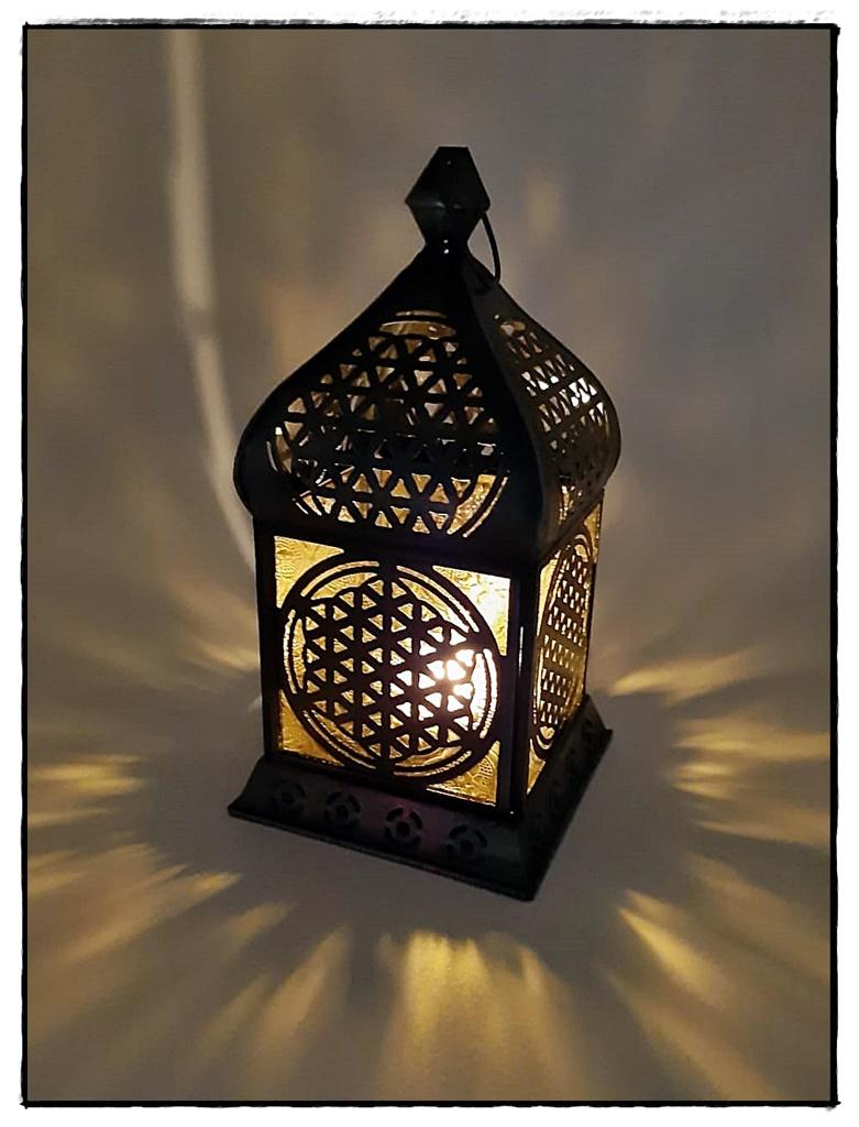 Orientalisches Licht Zink antik