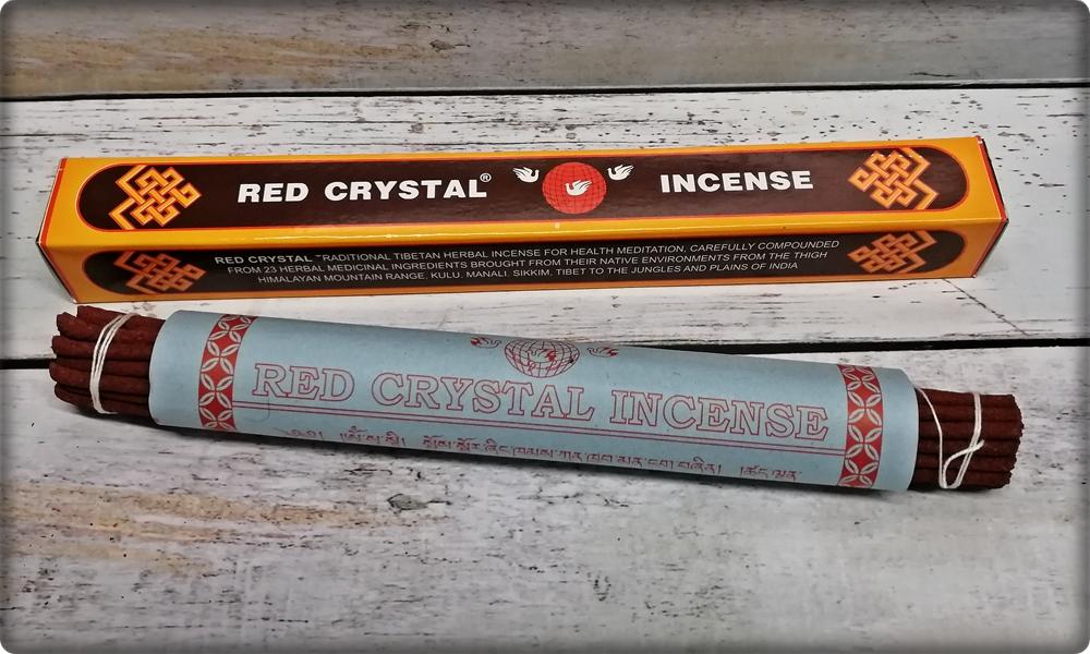 Red Crystal Incense Räucherstäbchen