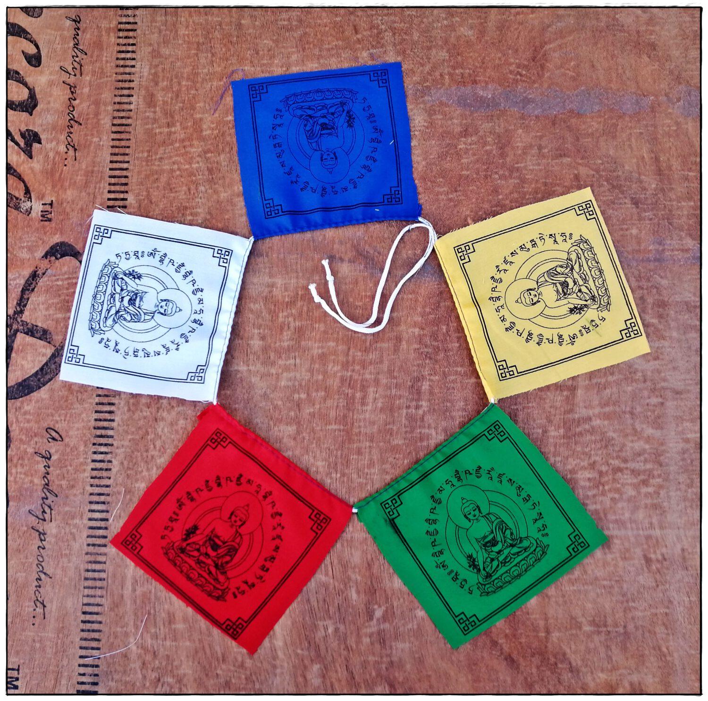 Medizin-Buddha Heilflagge