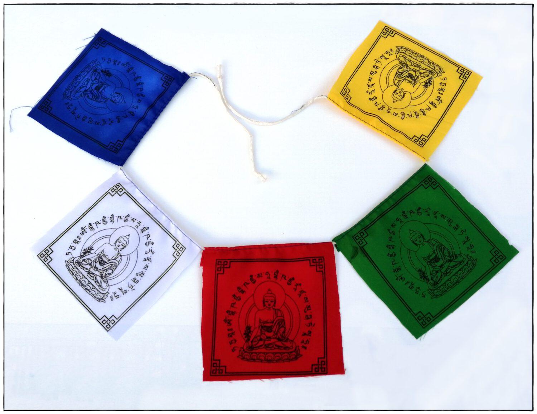 Gebetsfahne Medizin Buddha