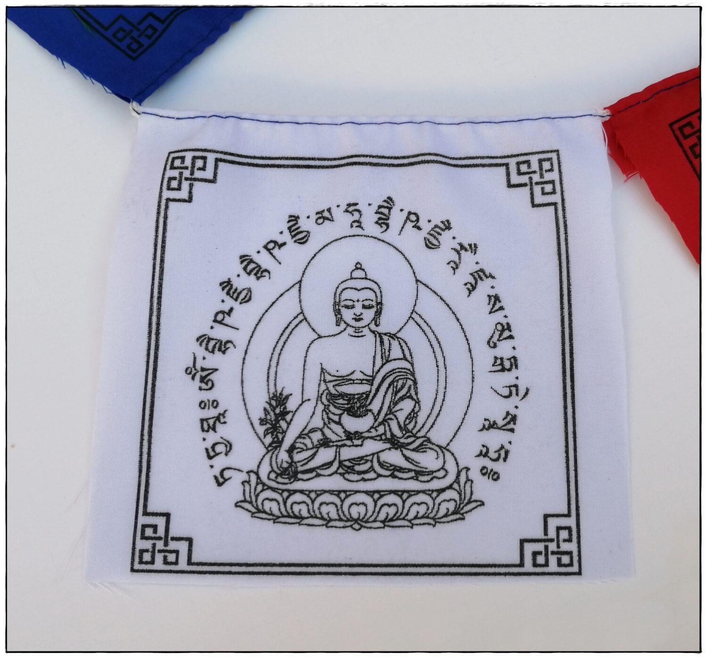 Medizin-Buddha Gebetsfahne