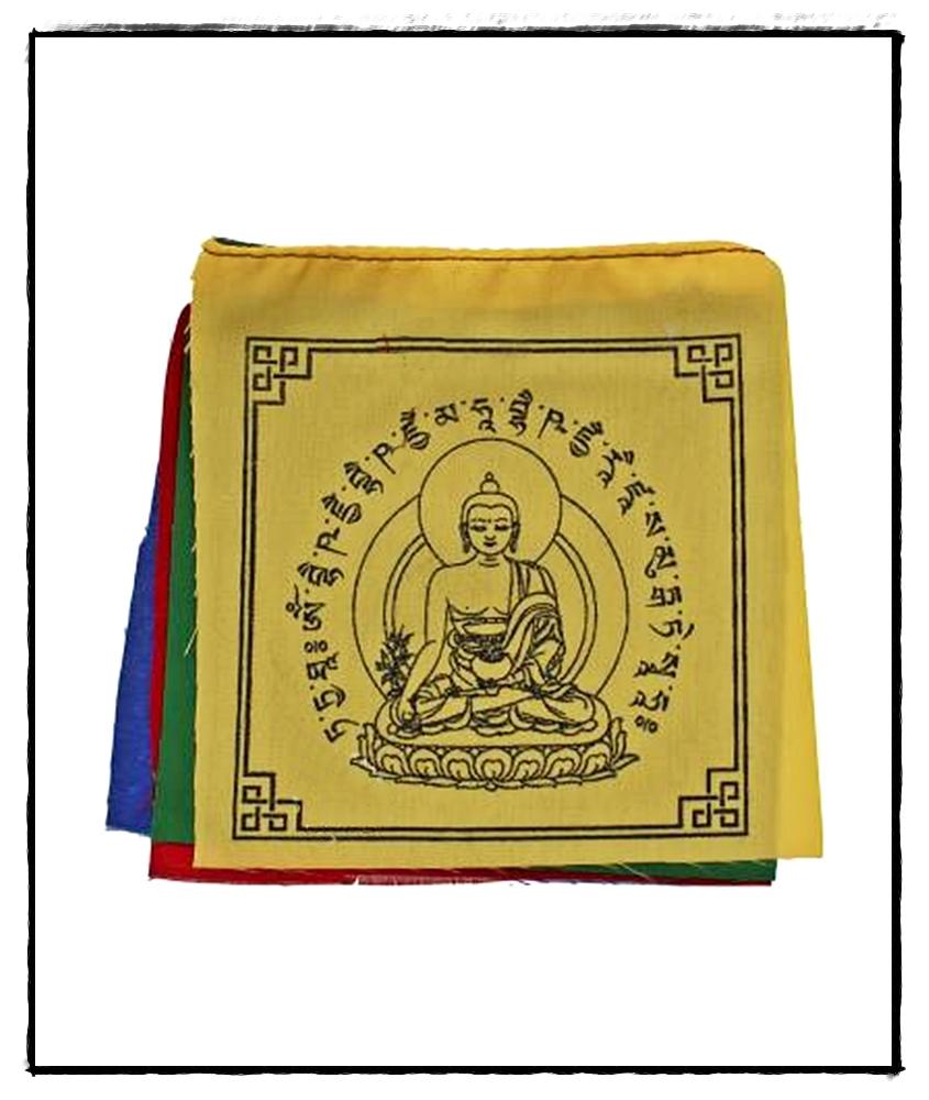 Medizin Buddha Heilflagge